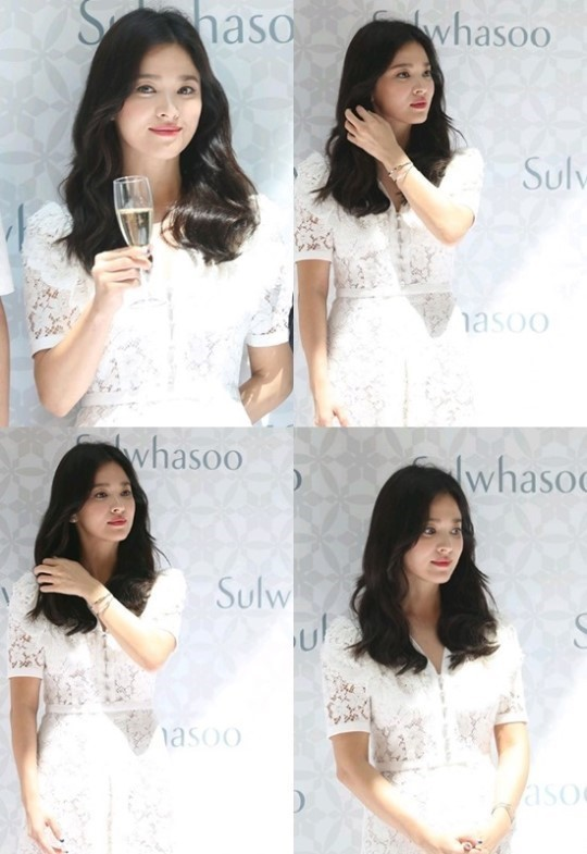 [K-Star]: Song Hye Kyo, the first official appearance after the divorce
