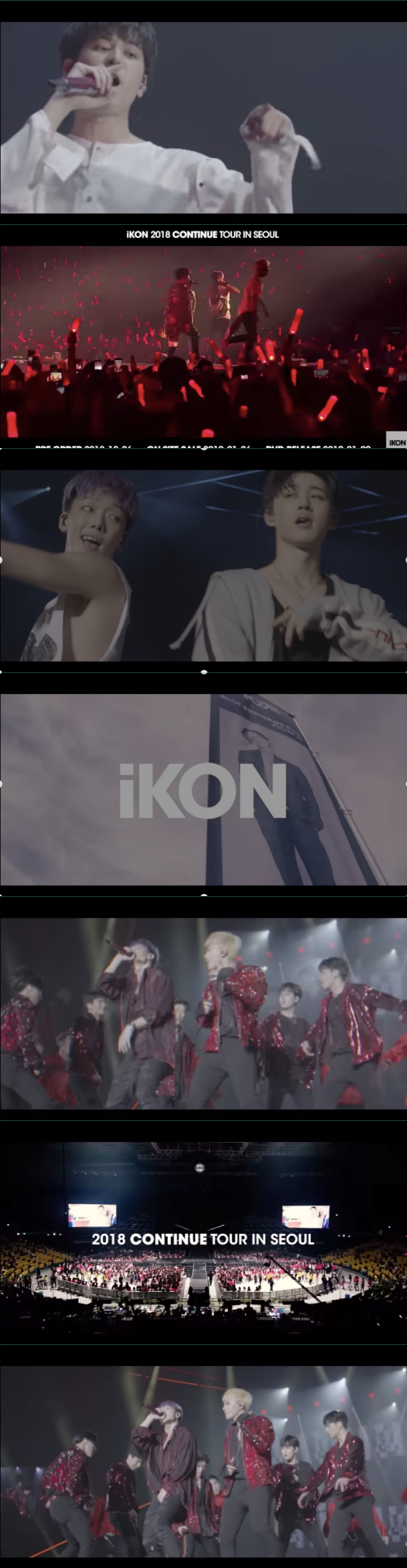 Image result for ikon 2018 continue tour in seoul dvd
