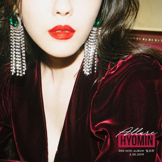 T-ARA Hyomin's 'Allure' tops YinYueTai chart for 8    | Kpopping