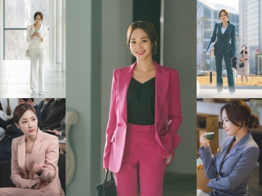 'Her private life': Park Min Young's style office look sophisticated