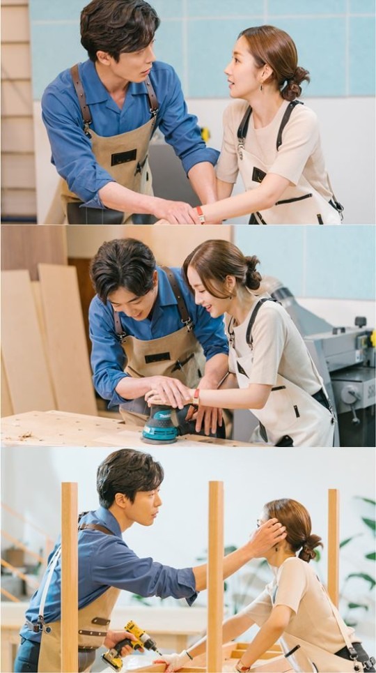 'Her Private Life' Park Min Young ♥ Kim Jae Wook dating at furniture workshop