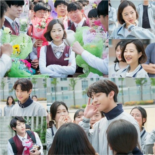 [K-Drama]: Park Bo Young and Ahn Hyo Seop is young and brightness in uniform