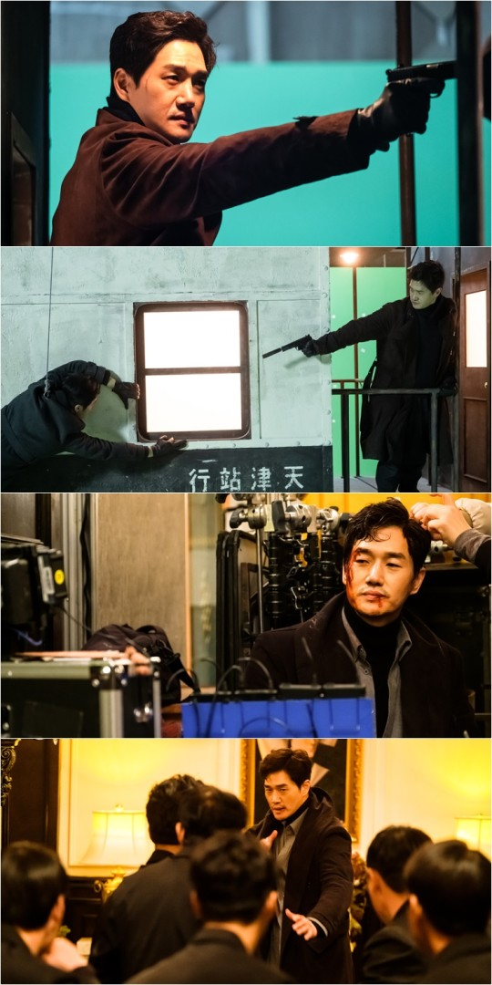 """Different Dreams"" released intense action-packed behind-the-scenes Yoo Ji Tae"