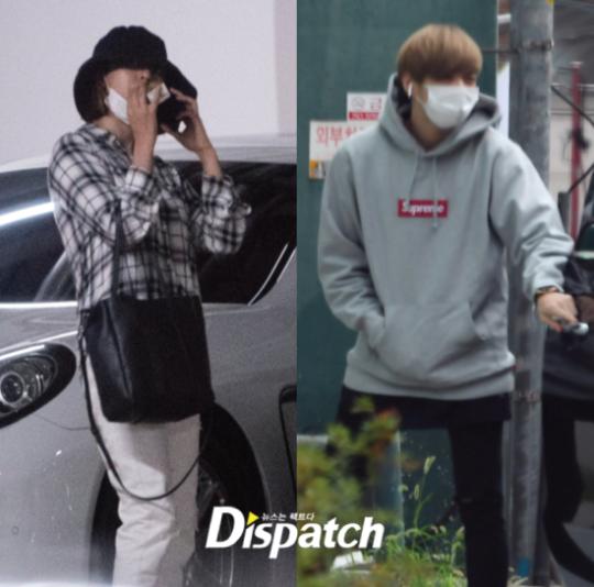 Foto kencan Jihyo TWICE dan Kang Daniel yang dirlis Dispatch, Senin (5/8/2019).