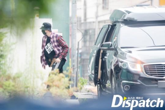 Foto berkencan Kang Daniel dan Jihyo TWICE yang dirlis Dispatch, Senin (5/8/2019).