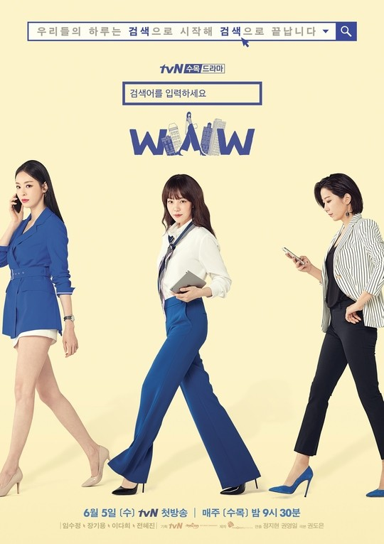 'Enter: Search WWW' Released Main Poster and 3 Charater Poster