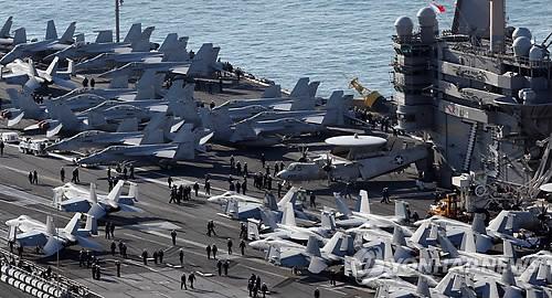 """北, 한미일 해상훈련 비난…""""핵전쟁책동에 강력대응"""""""