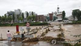 전북 422.5㎜ 집중호우로 피해 속출…침수·붕괴 등 143건 접수